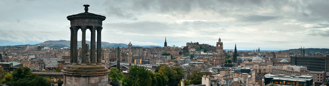 Malloch Melville Edinburgh Investment Managers - Image of Edinburgh Skyline